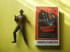 McFarlane freddy krueger-personaje & VHS Nightmare on elmstreet 6-freddy Finale