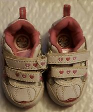 Baby Girls Sneakers Shoes Pink White Garanimals Size 3 NWT