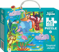 Puzzle 45 Piece Junior Jigsaw Puzzle: Tropical Jungle Free Postage