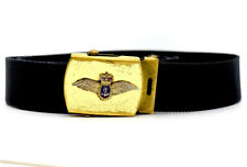 Military Fabric Belt Black One Size (30-36 inches)