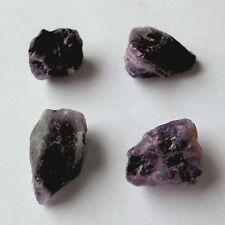Nuggets GEMSTONE Beads Natural Chakra Reiki Healing Crystal Synthetic Amethyst - Purple