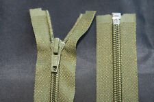 Reißverschluss Perlon Spiral 6 mm Teilbar für Jacken Taschen Weiß
