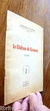 Plaquette Provence Le Château de Tarascon par Jean Marie Floret