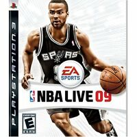 NBA Live 09 For PlayStation 3 PS3 Basketball Very Good 4E