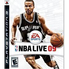 NBA Live 09 For PlayStation 3 PS3 Basketball Very Good 4E