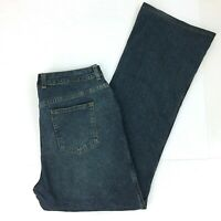 St. John Sport by Marie Gray Jeans Boot Cut Jeans Dark Wash size 14 Length 33""