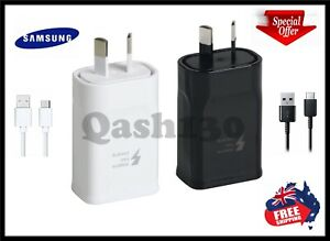 Genuine Samsung Galaxy Fast AC Wall charger USB C Type-C S9/S8/S10/Note 8/9/10