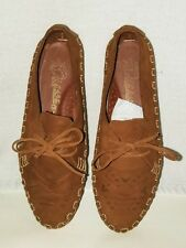 Vintage Diesse Womens 7 1/2B moccasin type lace up shoe