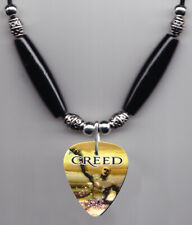Creed Human Clay Guitar Pick Necklace