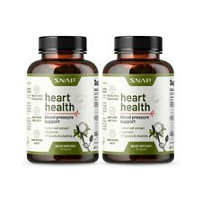 Heart Health Blood Pressure Support Supplement Olive Leaf Extract Capsule 2-Pack