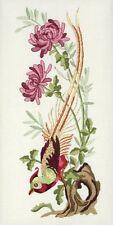 Anchor - Embroidery Kit - Vintage Chrysanthemum - Bird - 27 x 13 cm - PE644