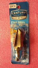 Century Drill and Too, 27201l High Speed Steel Step Drill, 8 Steps