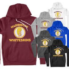 Washington Redskins Whiteskins Parody Funny Football Unisex Pullover Hoodie