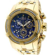 Invicta Reserve Bolt Zeus 30069 Men's Crystals Gold-Tone Cable Chronograph Watch