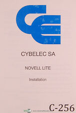 Cybelec SA Novell Lite, DNC PC 90, Press, French Installation Manual 1993