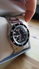 Homage Watch, Seiko Mod, Custom Vintage Snzh55 Black Bay Tribute Watch.
