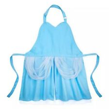Disney Parks Cinderella Costume Dress Blue Adult Kitchen Apron Wdw - New