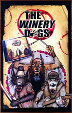 THE WINERY DOGS S/T Ltd Ed Discontinued RARE Poster! DREAM THEATER MR BIG POISON