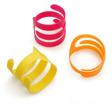 PETMATE BOODA LOONEY LOOPS 3 PACK NEON ROLLERS KITTEN OR CAT TOY USA