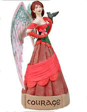 Courage Angel Virtues Figure Ornament Jessica Galbreth fairy faery faerie
