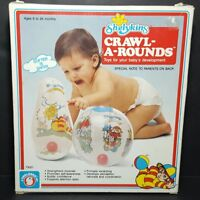 INFLATABLE  CRAWL-A-ROUNDS  SHELCORE BOPPER & BALL RARE SEALED DEVELOPMENTAL TOY