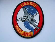 usaf  America air force squadron cloth patch KANSAS ANG  [D]