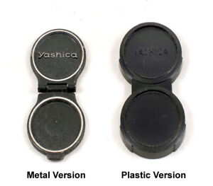 Yashica Mat Metal B1 or Plastic Push-on Lens Cap for TLR Cameras. Others Listed