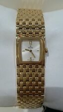 Orologio Bulova Donna Cassa Bracciale Placcato Oro watch women swiss made 64L12