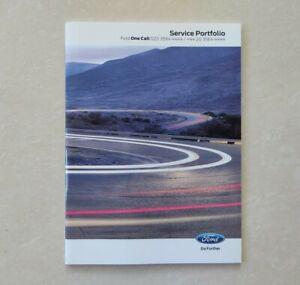 New FORD SERVICE BOOK (2011~2020) COVERS ALL MODELS FIESTA FOCUS MONDEO KA KUGA