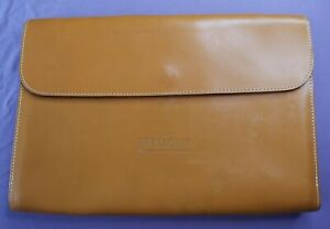 Bremont Kingsford Tan Bridle Leather A4 Document Folder Used Condition