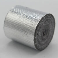 Adhesive Backed Heat Shield Wrap Tape For Car Intake Intercooler Pipe 1'' x 33ft