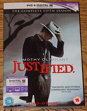 JUSTIFIED SERIES SEASON FIVE 5 FIFTH 2014 R2 DVD