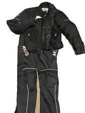 Akito Stratos Textile Motorcycle Jacket 2XL 56 & Trousers Size 36 Armoured