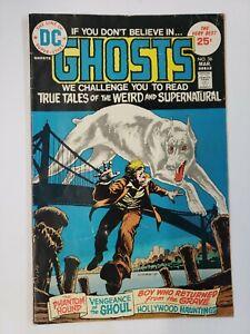 Ghosts #36 (1975) VG 4.0 DC Comics Bronze Age Horror Suspense Mystery!