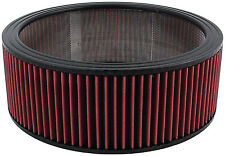 """AIR CLEANER WASHABLE ELEMENT FILTER 14 X 5"""" ELEMENT K&N STYLE IMCA WIX FRAM TYPE"""
