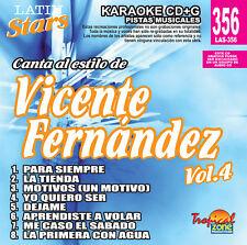 Karaoke Latin Stars 356 Vicente Fernandez Vol.4