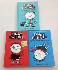 Timmy Failure 3 book Bundle By Stephan Pastis