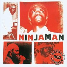 NINJAMAN - REGGAE LEGENDS NEW CD