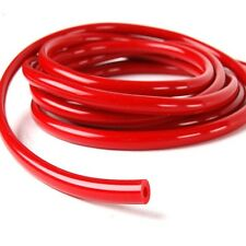 """RED ID:3 mm  (1/8"""") Vacuum Silicone Hose Intercooler Coupler Pipe Turbo 1 foot"""