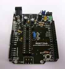 RKAT28sb Shield Base PCB for 28 pin Arduino and ATMEL Self Build Kit - UK Seller