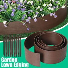 DIY Lawn Edging Garden Border Wall Path Grass Plant Flower Bed Fence Landscape
