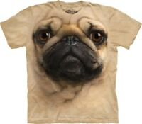 New The Mountain Pug Face T Shirt