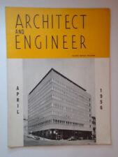 1956 Architect and Engineer San Francisco CA Pacific Mutual Building Burlingame