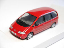 "VW Sharan Typ 7M8 ""CARAT"" in rot rouge rosso roja red, Herpa in 1:43 BOXED!"