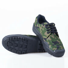 Military Training Workshop Safty Work Shoes Anti-skid Camouflage Rubber Shoes