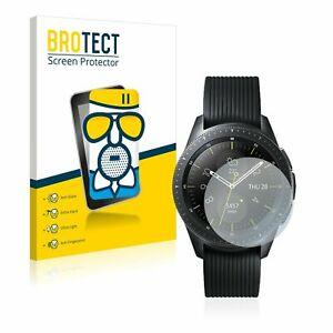Samsung Galaxy Watch (42 mm) Smart Watch , 2x  BROTECT® Matte Screen Protector