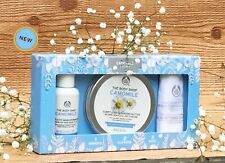 THE BODY SHOP CAMOMILE 123 KIT EYE MAKEUP REMOVER SUMPTUOUS CLEANSING BUTTER NEW