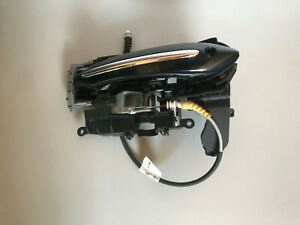 BMW 7 SERIES F01 2009 FRONT LEFT EXTERIOR KEYLESS GO DOOR HANDLE 7187225