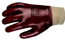5 Paar PVC-Handschuh, Gummi, Arbeitshandschuh, 7500.022