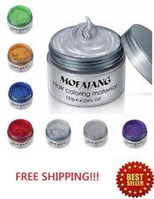 Hair Color Wax Unisex DIY Dye Cream Temporary Modeling 7 Colors mofajang